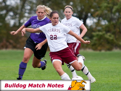 Ferris State Women's Soccer Notes - Matches 11-12