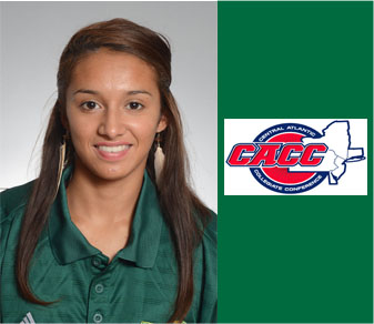 Roldan Sweeps CACC Women's Cross-Country Awards
