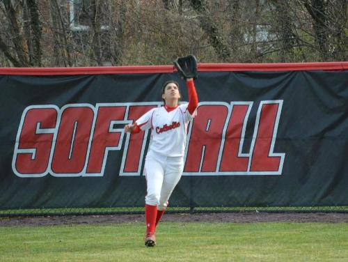 Lady Cards Fend Off Juniata in Doubleheader