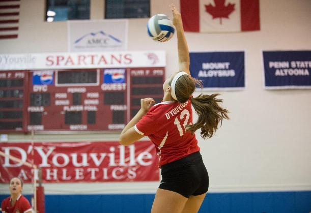 Women's Volleyball Loses Home Opener to St. John Fisher