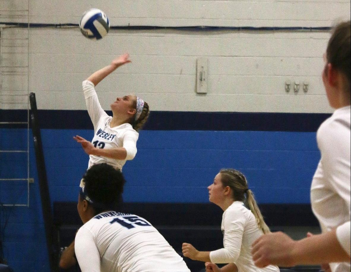 Wesley Volleyball Falls in Four to Marywood