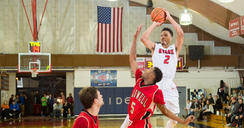 Nyack Men's Basketball Edged Out by Caldwell Cougars, 62-52