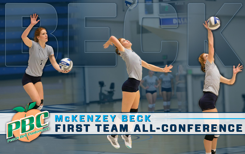 Beck Named First Team Peach Belt All-Conference