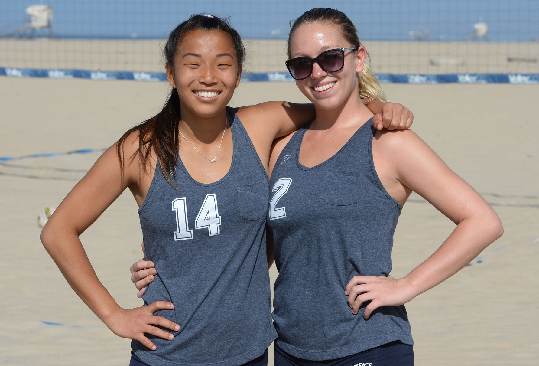 Four Pirates named to beach volleyball All-OEC team