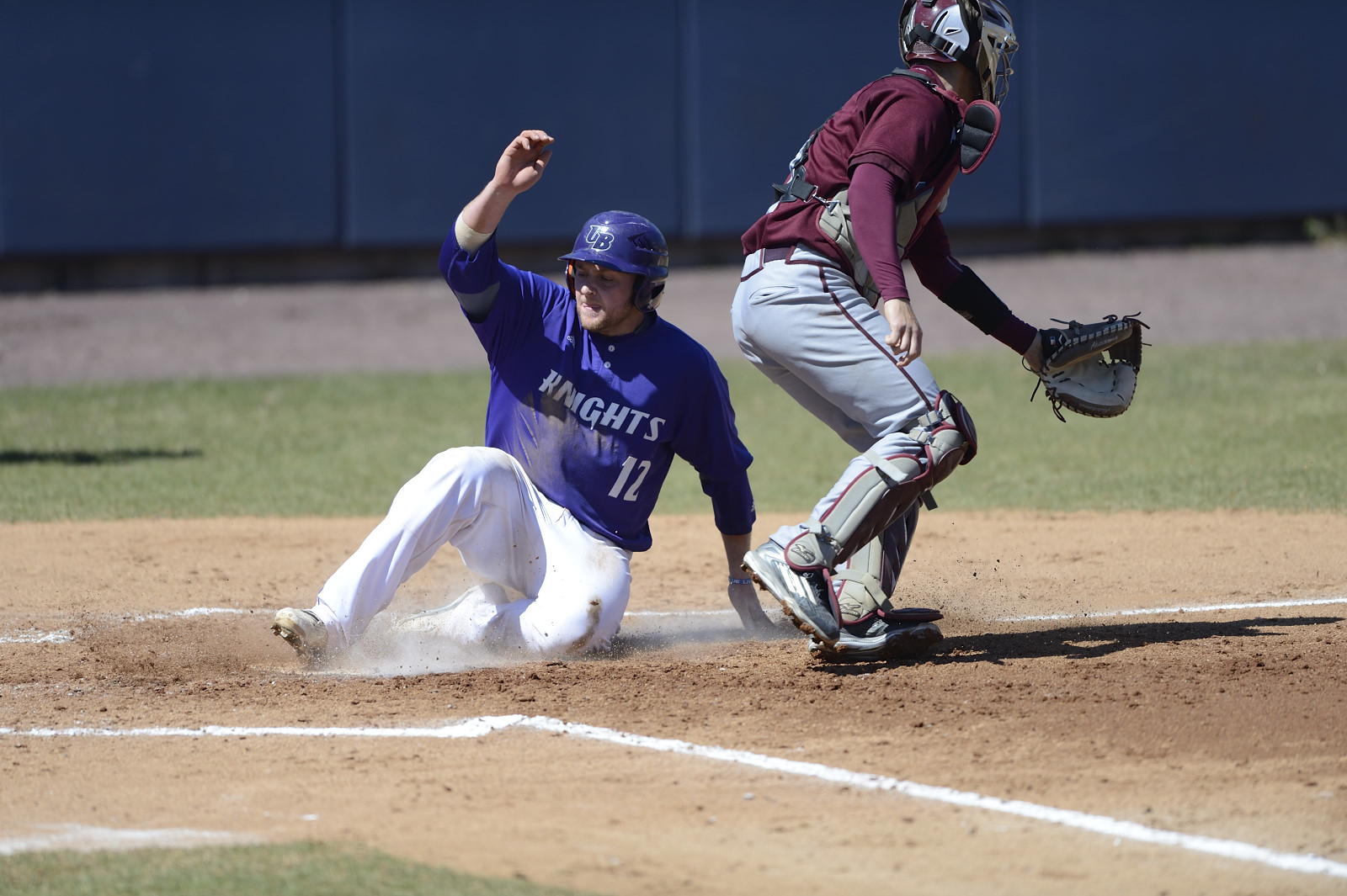 Burger's Big Flys Help UB Baseball To 10-6 ECC Win Over Molloy