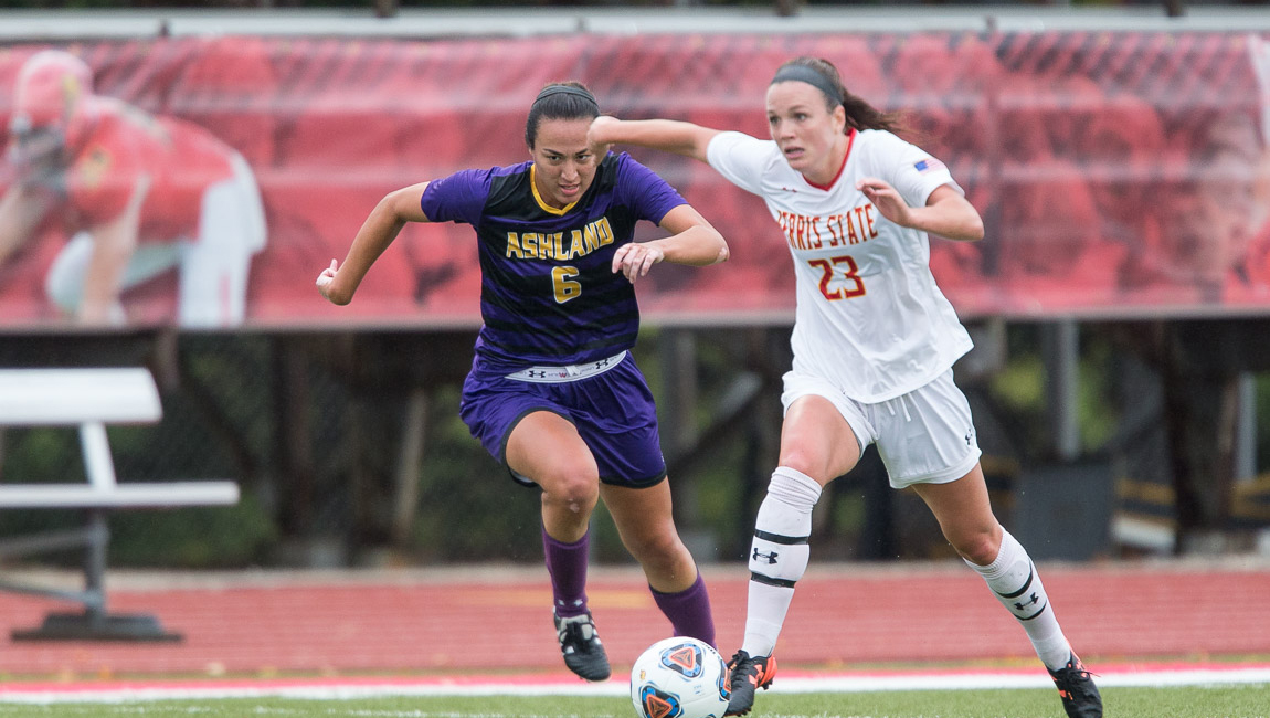 Ferris State Drops Regular-Season Finale To GVSU Under The Lights At Top Taggart FIeld