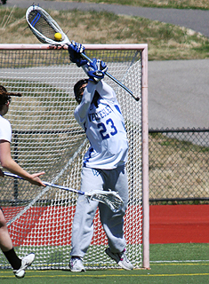 Second Half Springfield Surge Dooms Blue Lacrosse