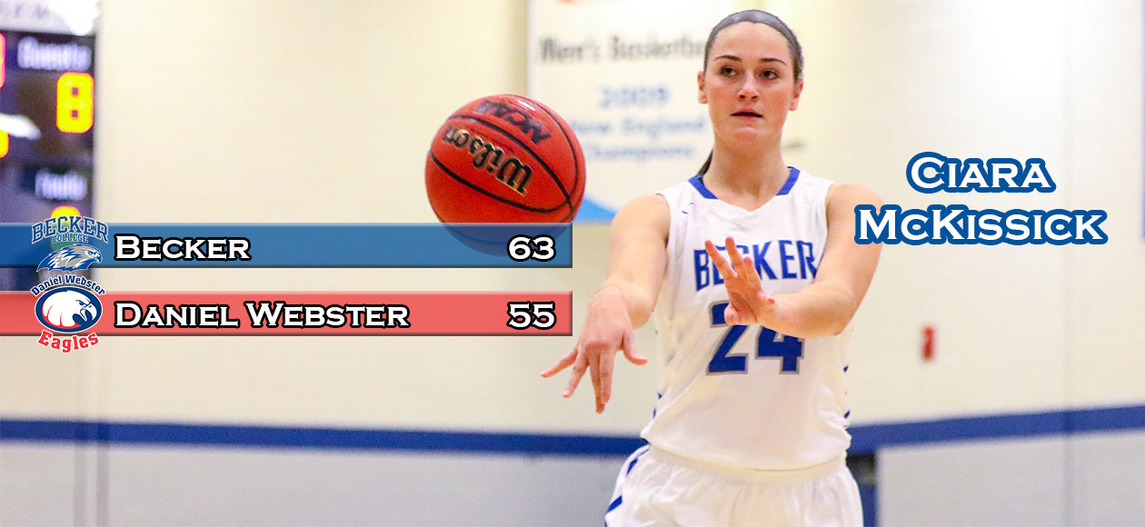 Women's Basketball downs Daniel Webster, 63-55