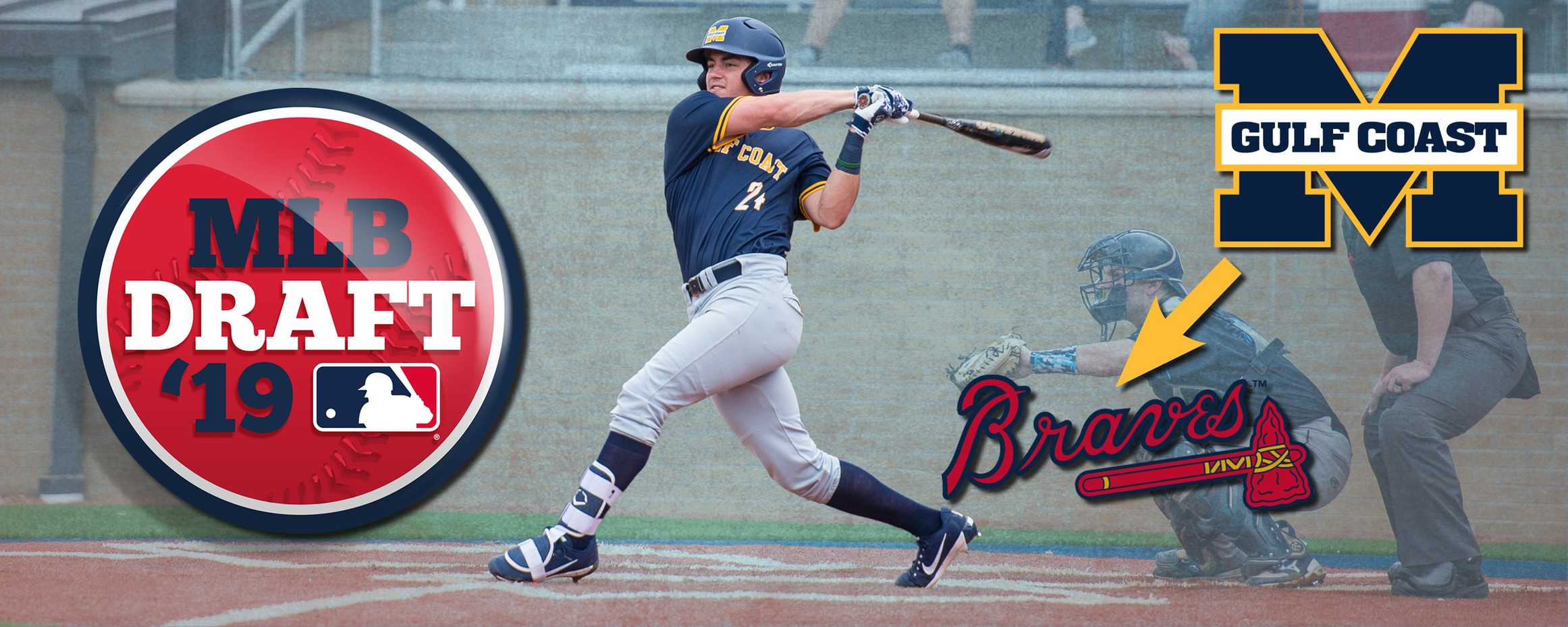 Braves draft MGCCC's Parker