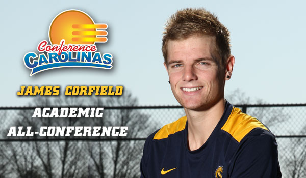 Corfield Named Academic All-Conference