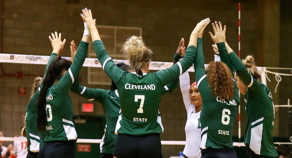 Vikings Drop First #HLVB Match In 3-2 Decision At Green Bay