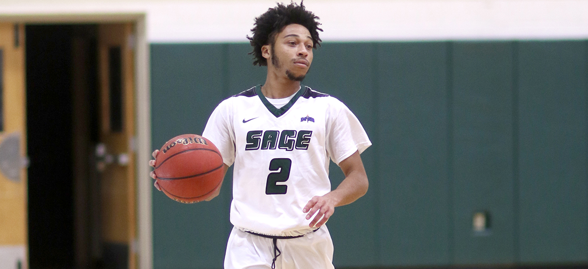 Sherwood tallies 14 second half points as Sage beats Hartwick, 67-64