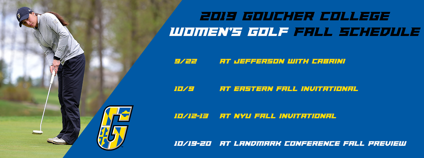 Goucher Women's Golf Unveils 2019 Fall Schedule