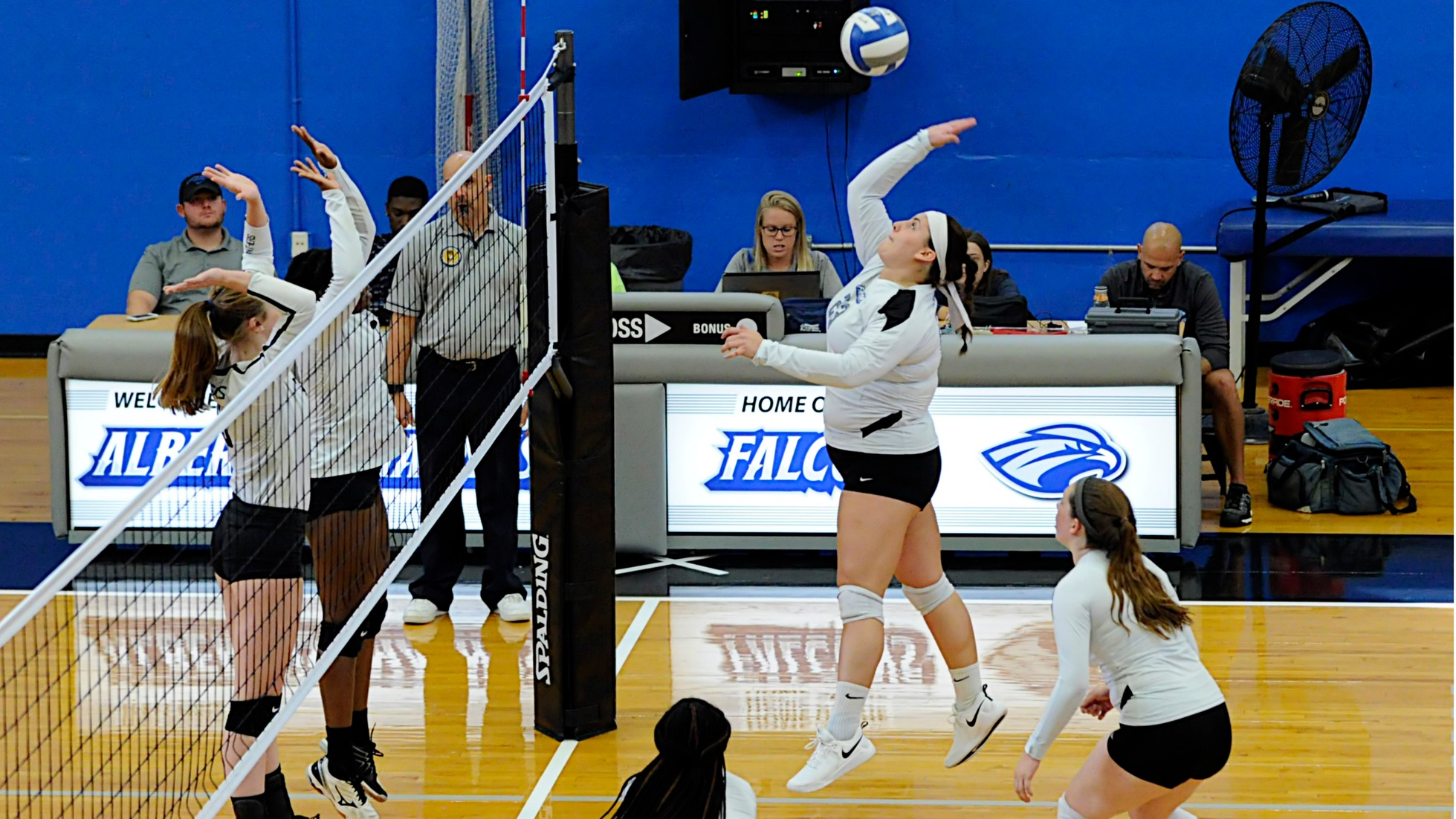 Women's Volleyball Splits Non-Conference Tri-Match with Pratt and Becker