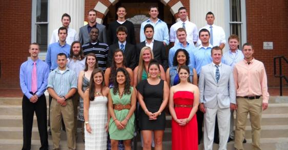 Bobcat Athletics Holds Senior Awards Banquet