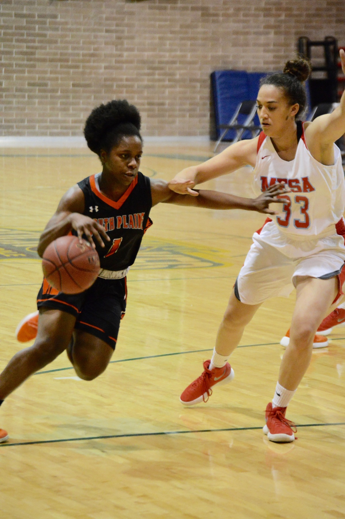 Lady Texans fall to Mesa 74-65 Thursday in Scottsdale