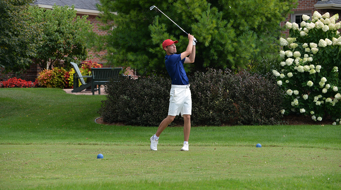 Men's Golf 5th after first round of HawksHead Invitational