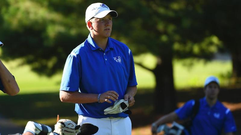 Men's Golf in 11th Place After Day One at Manor Intercollegiate