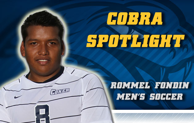 Cobra Spotlight- Rommel Fondin, Men's Soccer