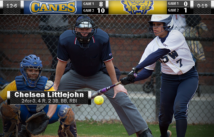 Triples By Littlejohn To Sweep Fort Valley