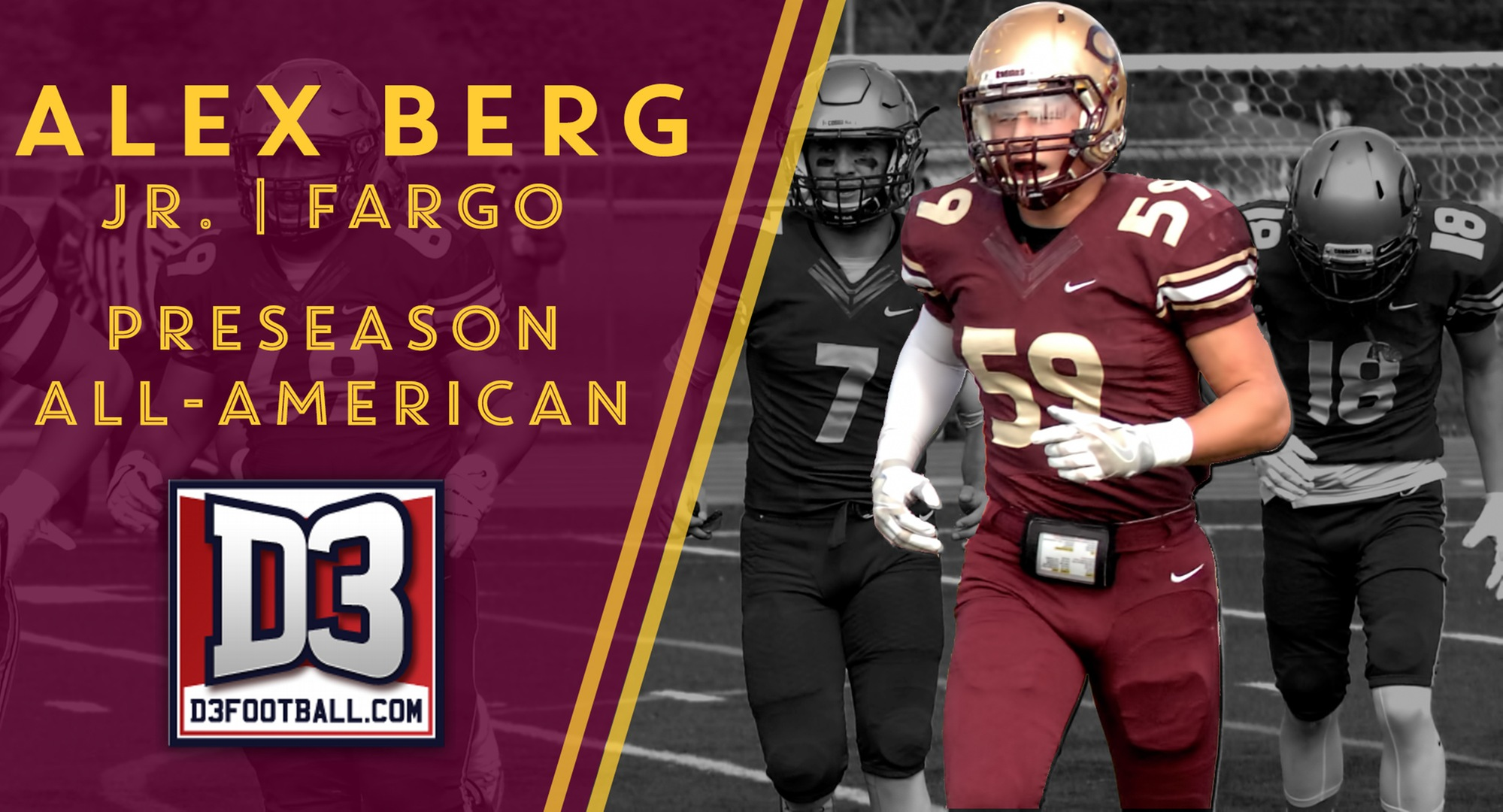 Berg Named Preseason All-American