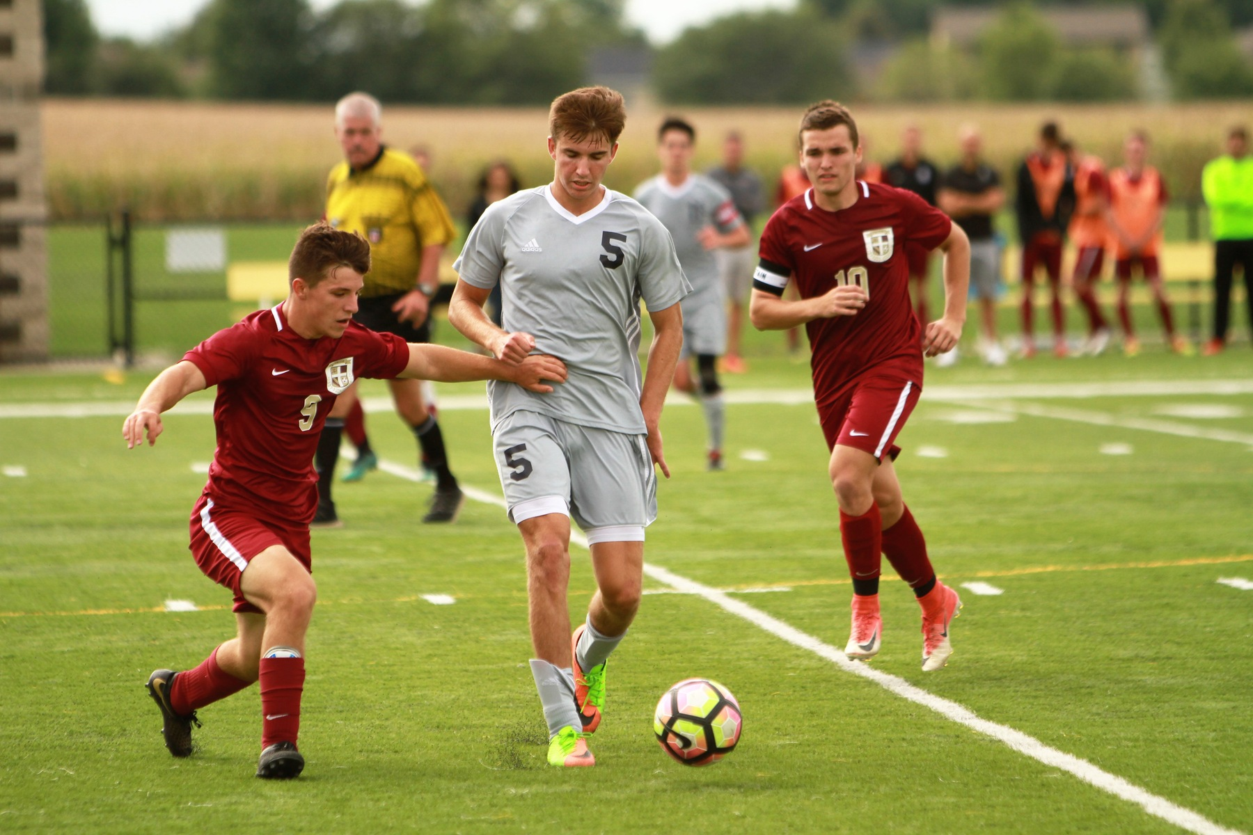 Men's Soccer Team Loses Season Opener, 3-1
