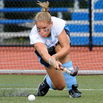 Slysz Scores Twice in Field Hockey's 3-0 Victory Over Castleton State