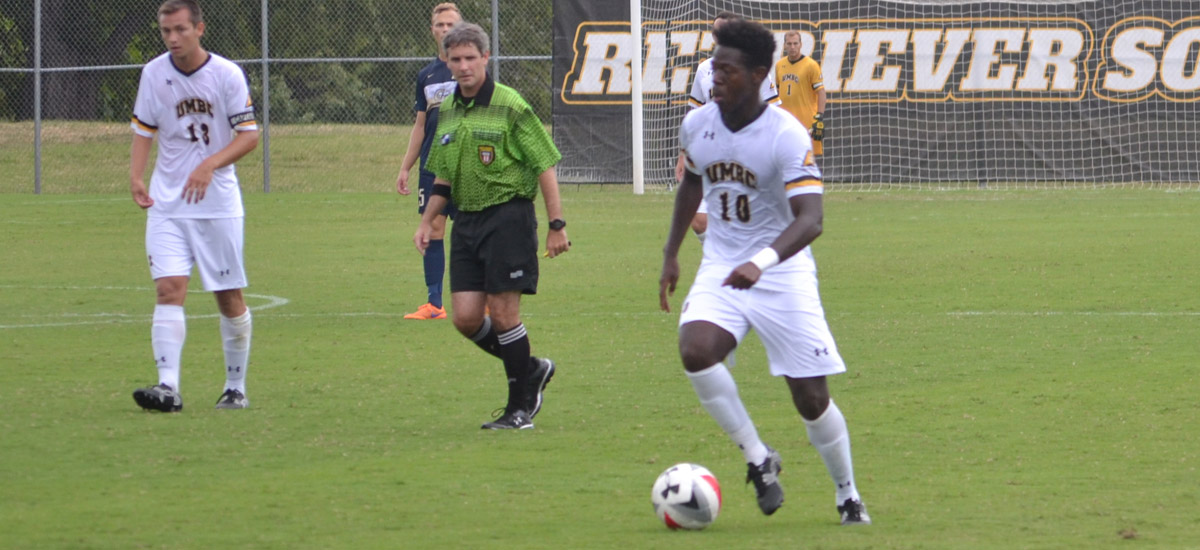 Jean-Gilles' Golazo Wins it in OT; UMBC Picks Up Third Straight Win, 2-1 Against La Salle