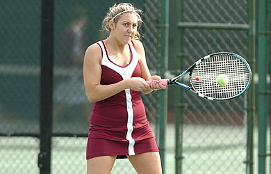 SU tennis win streaks snapped by nationally ranked TCNJ