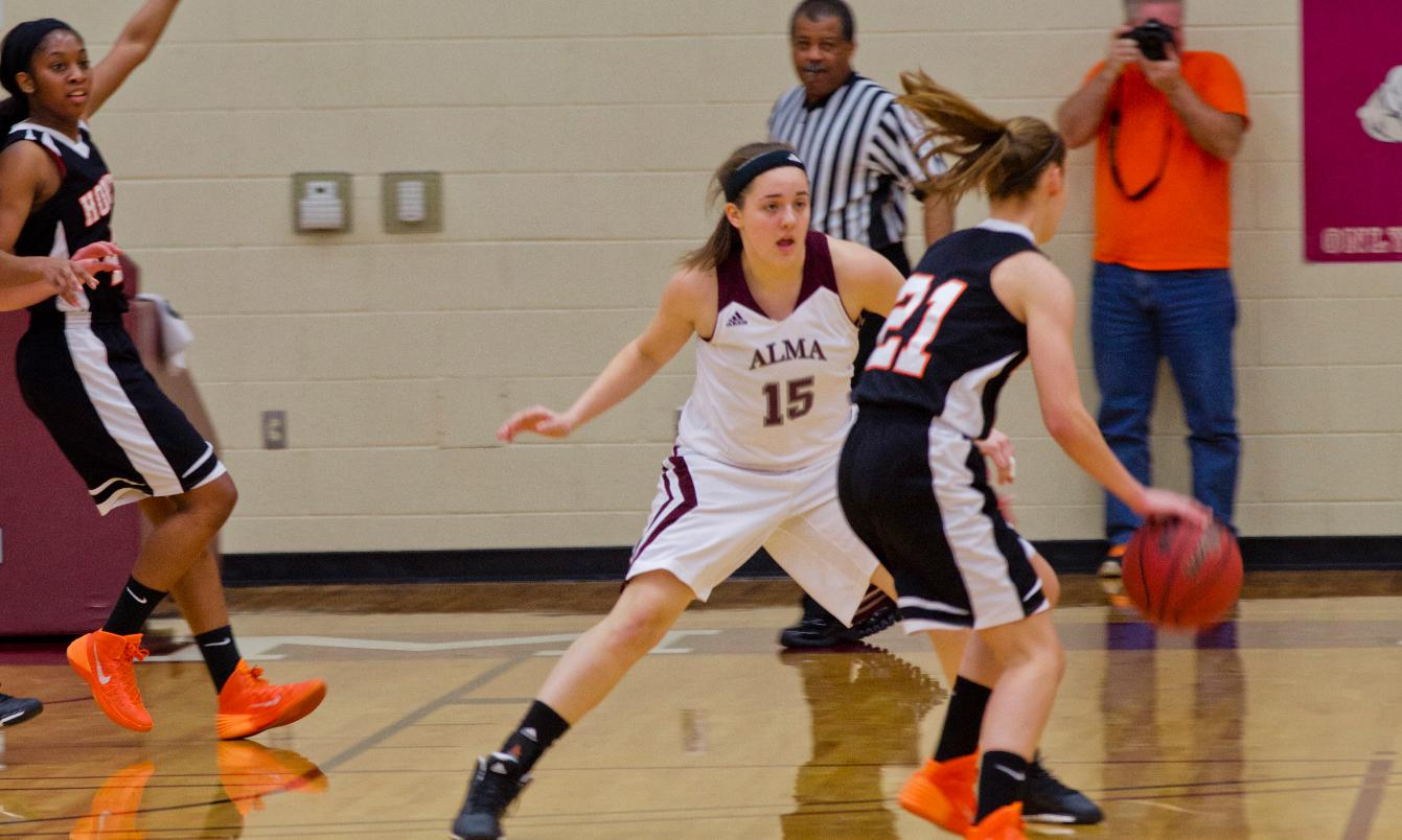 Alma Women's Hoops defeated by Kalamazoo 76-50 on Wednesday night