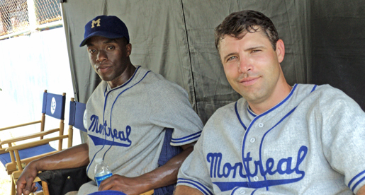 "Former Golden Eagle Ruehling plays role in Jackie Robinson movie ""42"""
