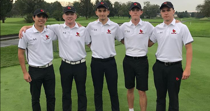 Men's Golf Sets New Best Score, Finishes Fifth