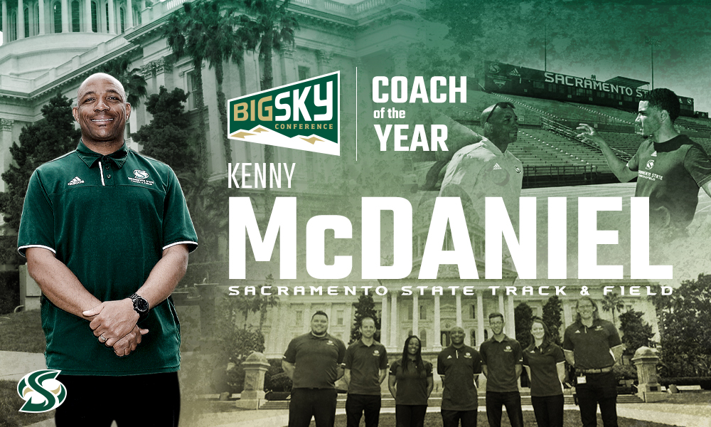 KENNY MCDANIEL NAMED BIG SKY WOMEN'S OUTDOOR TRACK & FIELD COACH OF THE YEAR