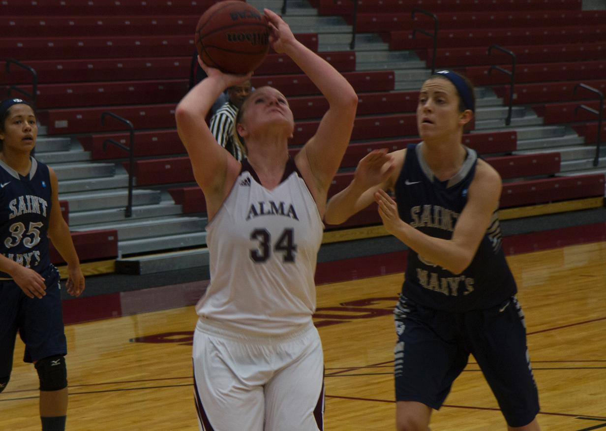 Scots took on Saint Mary's in a MIAA contest on Saturday at Art Smith Arena and lost 70-67