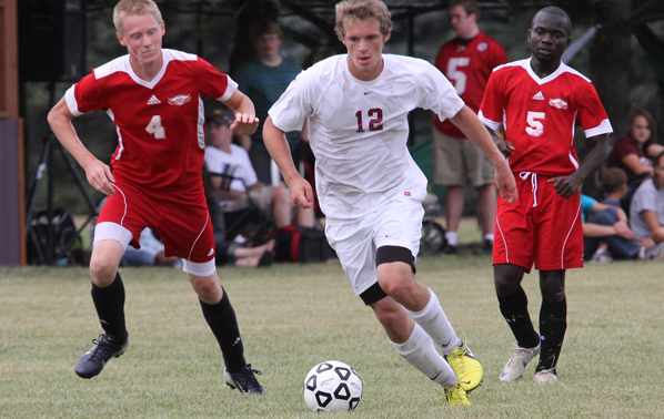 Men Drop Heart Breaker, Lose to NCU on PK's