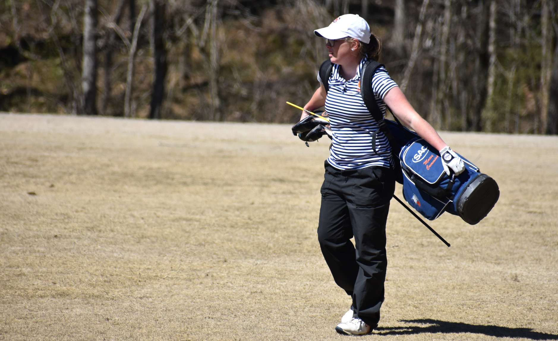 No. 24/25 C-N tied for fourth through opening round at SAC Championship