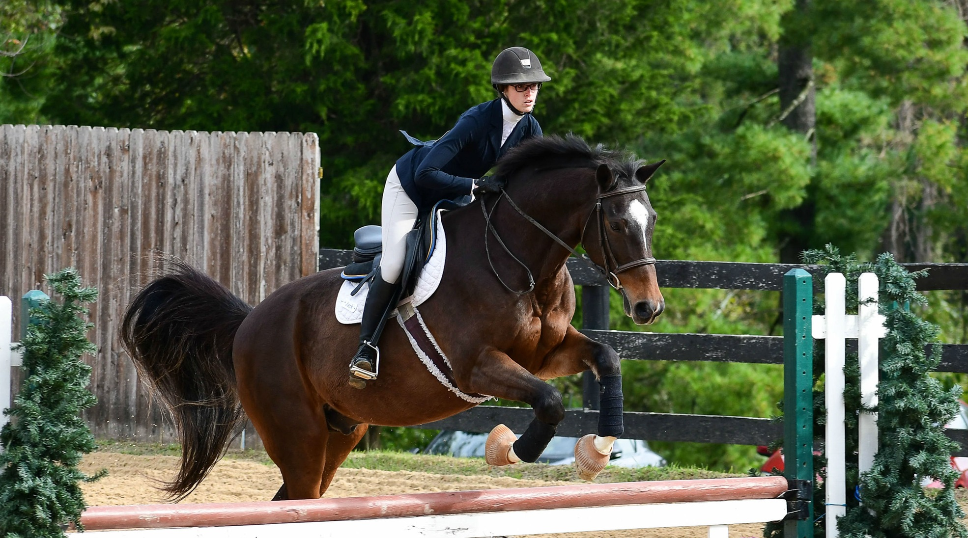 Equestrian Shares Victory at IHSA Show; Increases Lead in Region Standings