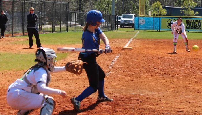 Zoe Derr with the swing