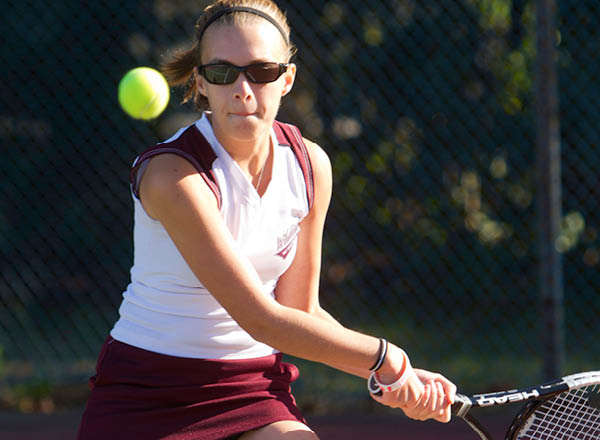 Bay Path Women's Tennis Shuts Out Mitchell
