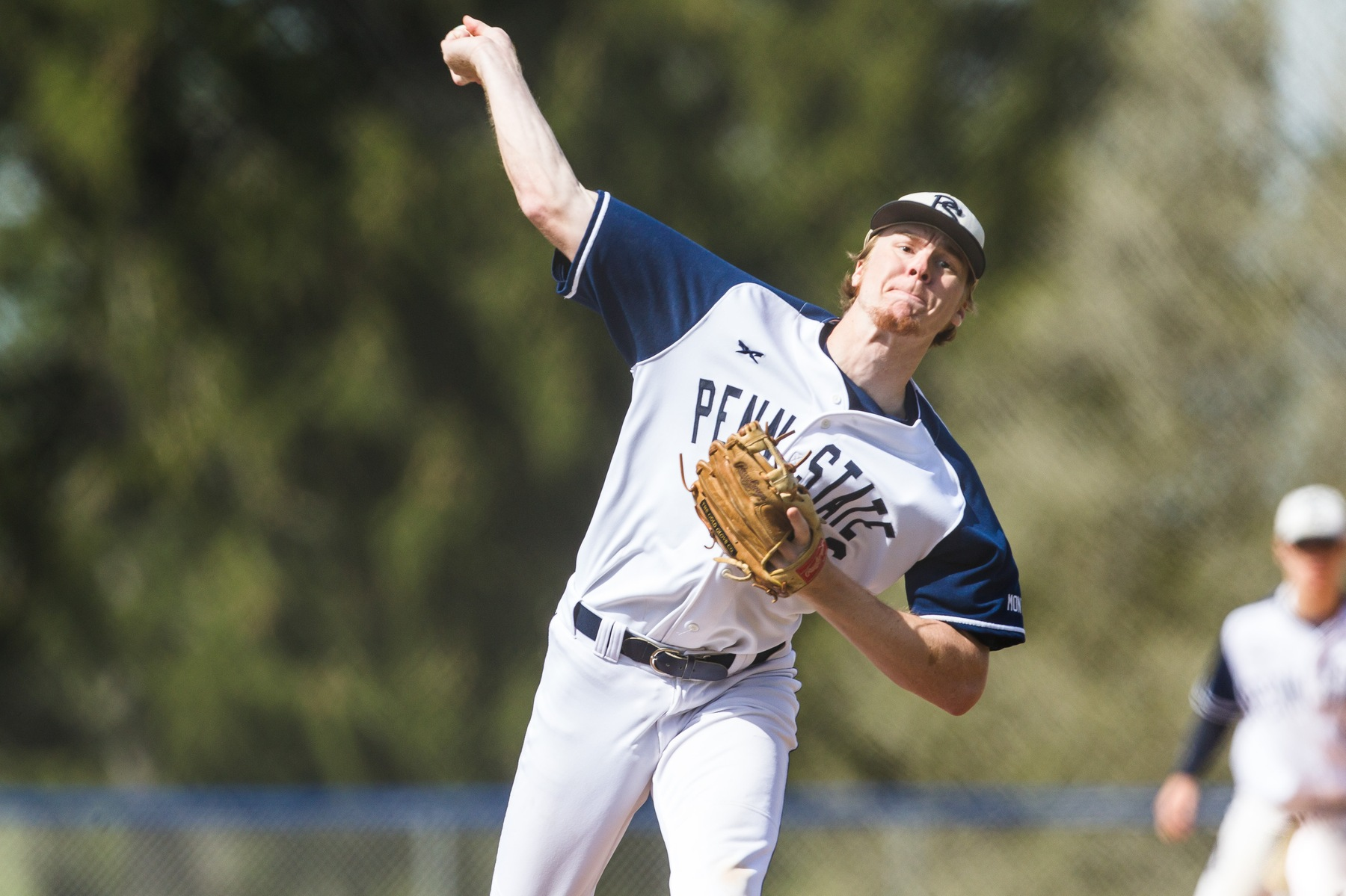 Baseball Earns Split with PSU Greater Allegheny