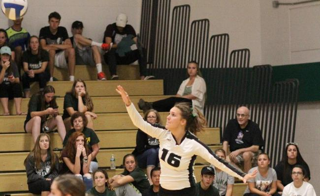 Women's Volleyball Wins Two Matches on Sunday