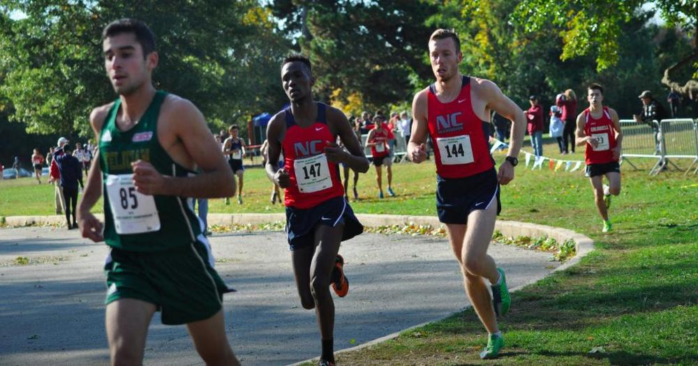 Men's Cross Country finishes 3rd at CACC Championship