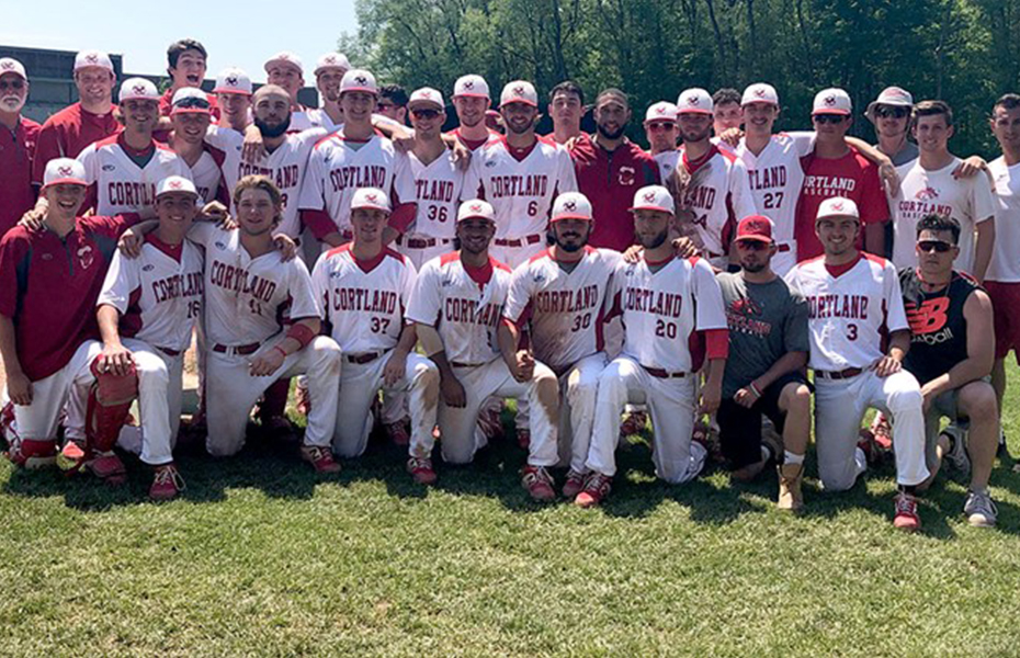Cortland Baseball Sails Past Tufts, 18-5, to Advance to NCAA Super Regional