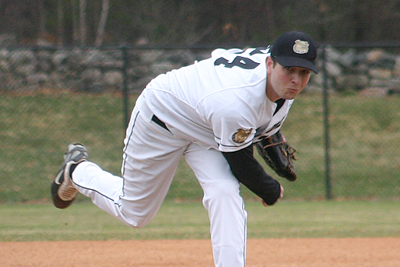 POLVANI PITCHES BRYANT TO 9-1 WIN OVER LE MOYNE IN GAME ONE SUNDAY; FALL, 4-1, IN GAME TWO