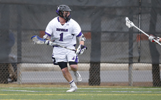 Senior attacker Taylor Nelson scored two goals today to move into sixth place on the Royals' all-time scoring list, but Scranton ended its 2013 season with a 7-4 loss to Susquehanna University in the semifinals of the Landmark tournament at Fitzpatrick Field Wednesday afternoon