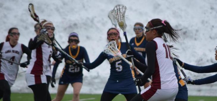 Raiders Run Past Lady AMCATS in Women's Lacrosse