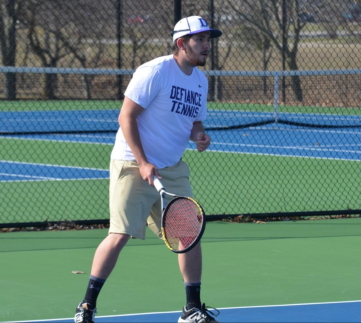 Men's Tennis Drops Road Contest with Earlham