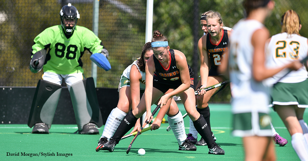 Field Hockey Surges Past McDaniel