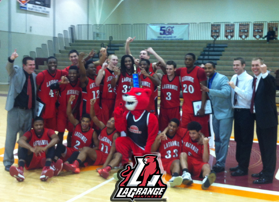 LaGrange Wins USA South Men's Basketball Title