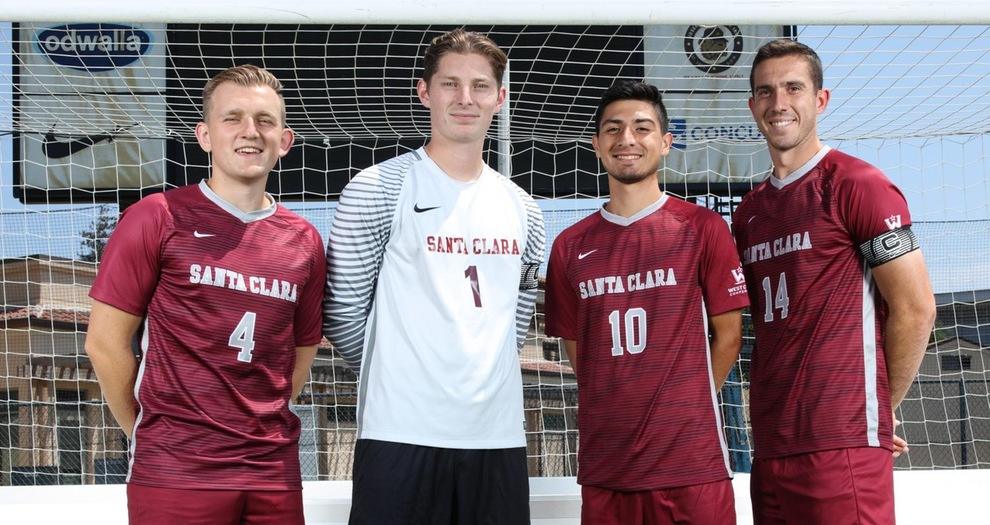 Men's Soccer Hosts No. 7 Portland on Senior Night